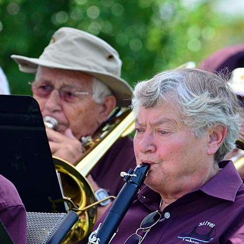 The Silver Ambassadors perform at a Wounded Warriors function on 26 July 2014. Nikon D5100 1/400, f9, 400 ISO, 270mm.