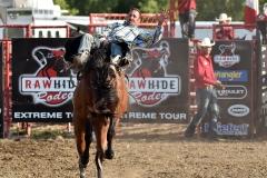 Rawhide Rodeo Saddle Bronc